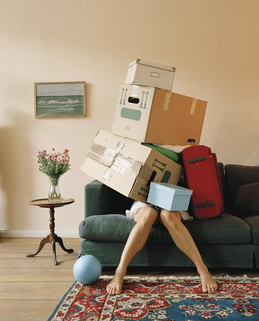 Clutter Busting (Stock Photo via Corbis)