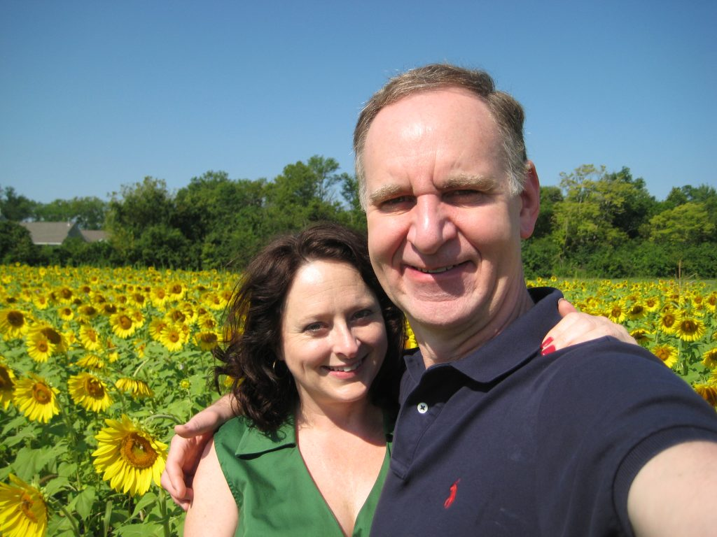 John and I in August 2011